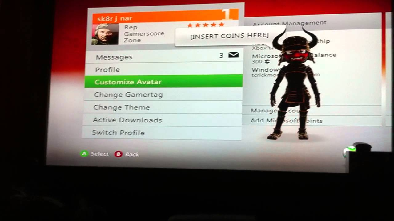 How To Change Gamer Picture For Xbox 360 YouTube