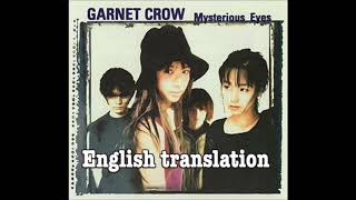 Garnet Crow - Mysterious Eyes English sub Detective Conan Opening 7