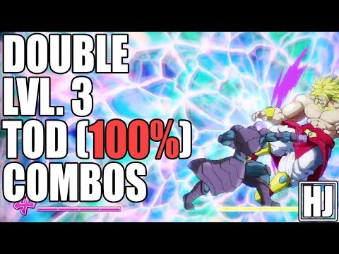 Landing Double Lvl. 3 TOD (100%) Combos In Dragon Ball FighterZ