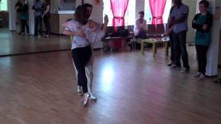 Juan Martin Carrara & Stefania Colina - 3 april 2011 - Tango op Katendrecht / Alma de Tango