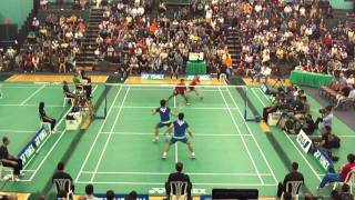 2011 US Open Badminton MD Final KOR vs USA 2/2