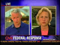 Anderson Cooper biatching out Mary Landrieu over Katrina