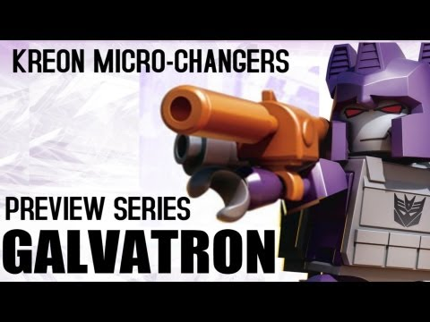 KRE-O Transformers Micro-Changers - Preview Series - Galvatron - MinifigCentral Unpacking Video