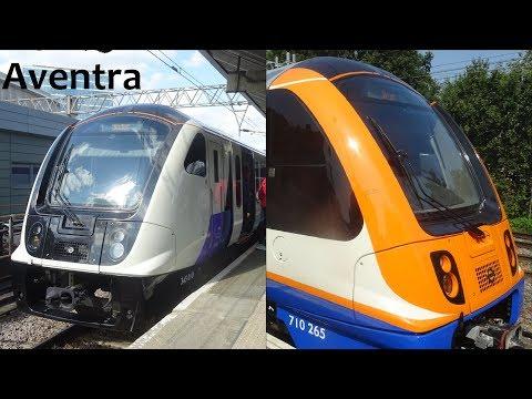 Aventra Class 345 & 710 (Crossrail & London Overground)