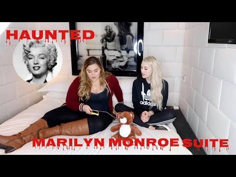 Contacting Ghosts At The Roosevelt Hotel... Marilyn Monroe Suite With Loey Lane