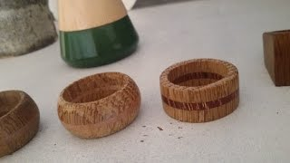 Make a wooden ring