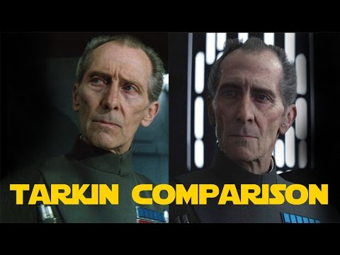 CGI Tarkin vs Real Tarkin | Comparison