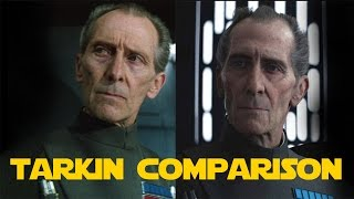 CGI Tarkin vs Real Tarkin | Comparison