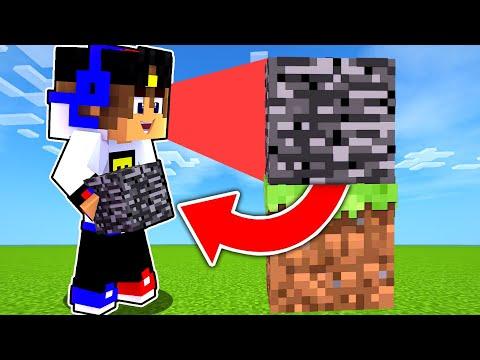 Майнкрафт но но Получаешь Каждый БЛОК на КОТОРЫЙ СМОТРИШЬ в Майнкрафте Троллинг Ловушка Minecraft