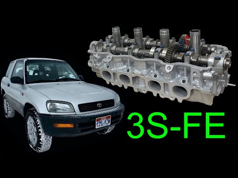 Cylinder head gasket replacement 1997 Toyota RAV4 (episode 25)