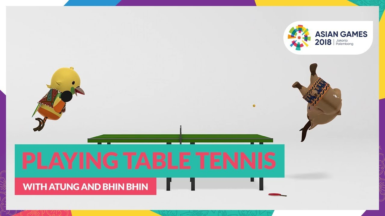 Playing Table Tennis With Atung And Bhin Bhin