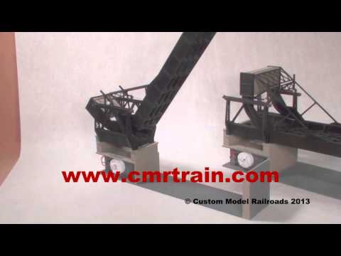 Custom Model Railroads Rolling Lift Bridge=+