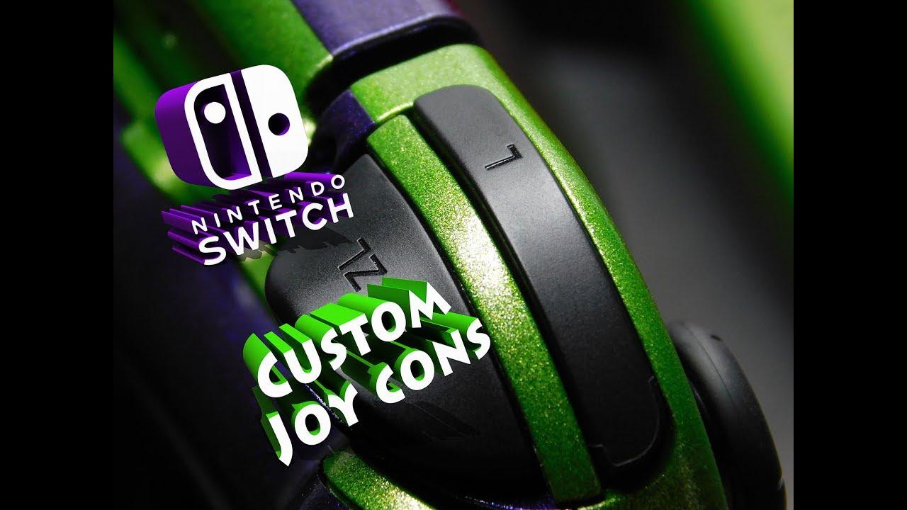 Custom nintendo switch joycons