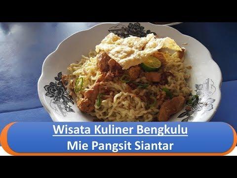 Wisata Kuliner Bengkulu - Mie Pangsit Siantar