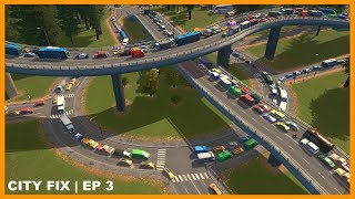 Fixing the City that Almost Broke Me | CITY FIX | Cities Skylines - Town Planner Plays
