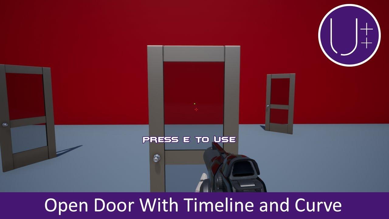 Unreal engine 4 c tutorial open door with timeline and float unreal engine 4 c tutorial open door with timeline and float curve malvernweather Gallery