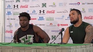 Hawaii Football Post Game Players Press Conference vs. Fresno State 11-11-17