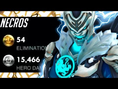54 ELIMS - NECROS BEST GENJI IN THE WORLD?! [ OVERWATCH SEASON 18 TOP 500 ]