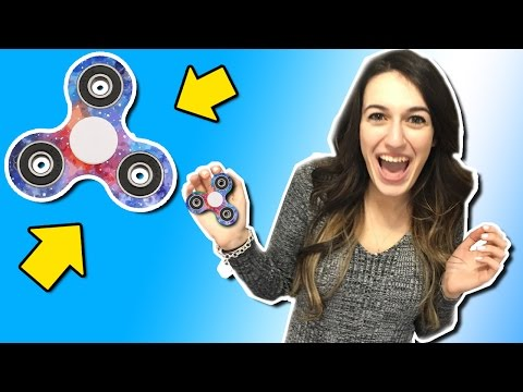 GIRLFRIEND HYDRO DIPPED MY FIDGET SPINNER?!?! (Hydro Dipping Fidget Spinner)