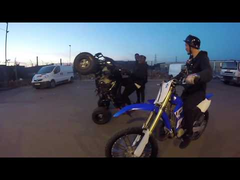 BIKELIFE!!! TAUGHT GHETTS HOW TO DO A CONTROLLED WHEELIE!!