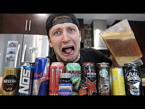 CRAZIEST ENERGY DRINK IN THE WORLD (EXTREMELY DANGEROUS)