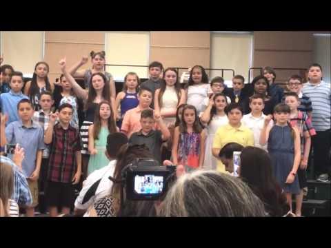 Jaelynne's 5th Grade Graduation At John Pearl Elementary School ....