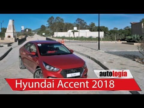 Primer contacto con el Hyundai Accent 2018