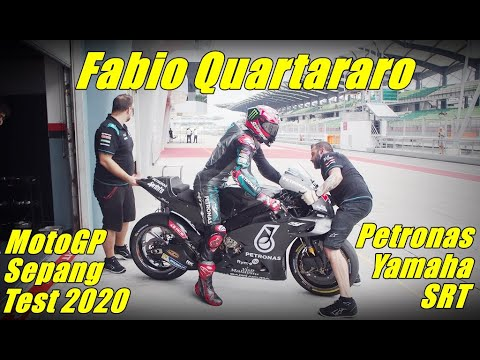 Fabio Quartararo - Petronas Yamaha SRT - Pure Sound Yamaha M1 - MotoGP Sepang Test 2020