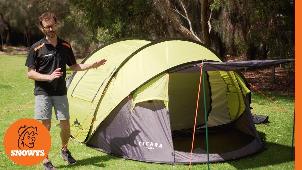the best attitude 122c5 d64d7 Oztent Malamoo Cicara 3.0 Tent