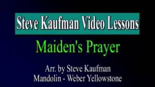 maidens prayer beginner mandoilin