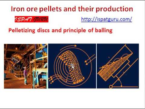 Iron ore pellets and their production Part 2
