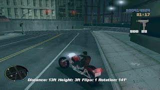 GTA 3: How to get a Bike Cheat PC