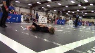 Girl TAPS OUT Boy Wrestler! BJJ