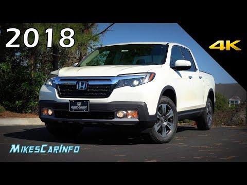 2018 Honda Ridgeline RTL-E AWD - Ultimate In-Depth Look in 4K