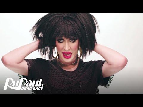 Drag Makeup Tutorial: Detox's '80's Business Woman'  RuPaul's Drag Race  Logo