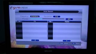 Triax TR212 & TR212S Saorview Box - How to Tune in the Saorview Channels