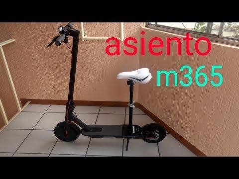 Instalacion De Asiento Plegable M365 Viajes Mas Comodos 🛴