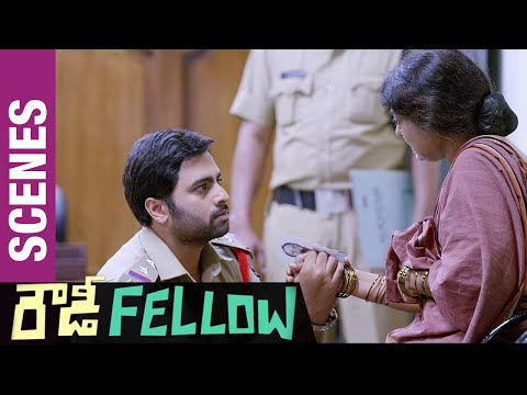 Rowdy Fellow Telugu Movie Scenes | Rameshwari slaps Nara Roh