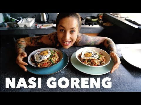 NASI GORENG - Bali   Videorecept   Smažená Rýže