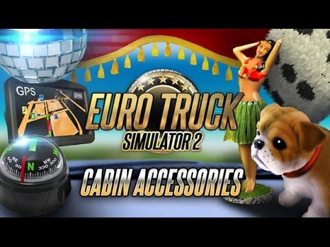 Скачать Мод На Euro Truck Simulator 2 На Аксессуары В Кабину Для - фото 8
