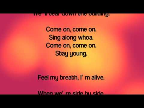 Stay Young: We The Kings Lyrics