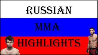 Российские бойцы выносят UFC , Russian MMA highlights 2018/2019