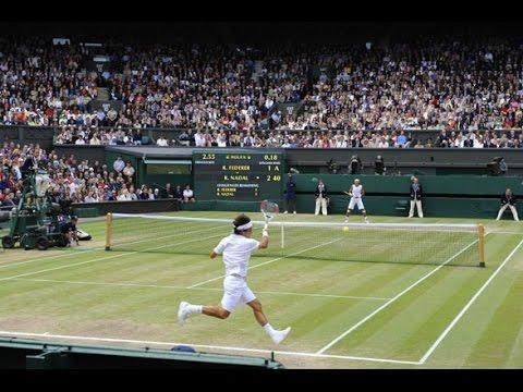 Roger Federer vs. Rafael Nadal - Wimbledon 2008 [set 1]