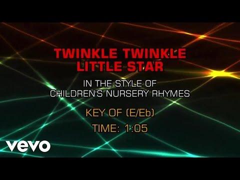 Children's Nursery Rhymes - Twinkle Twinkle Little Star (Karaoke)
