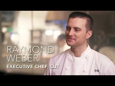 Daniel Boulud Goes Into The Kitchen At CUT By Wolfgang Puck