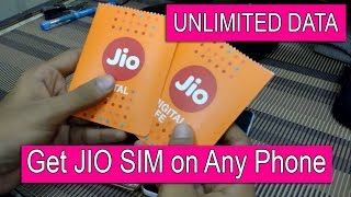 How To Get Free Reliance 4G JIO SIM For Any 4G Phone? Generate Code,How To Activate,2GB To Unlimited