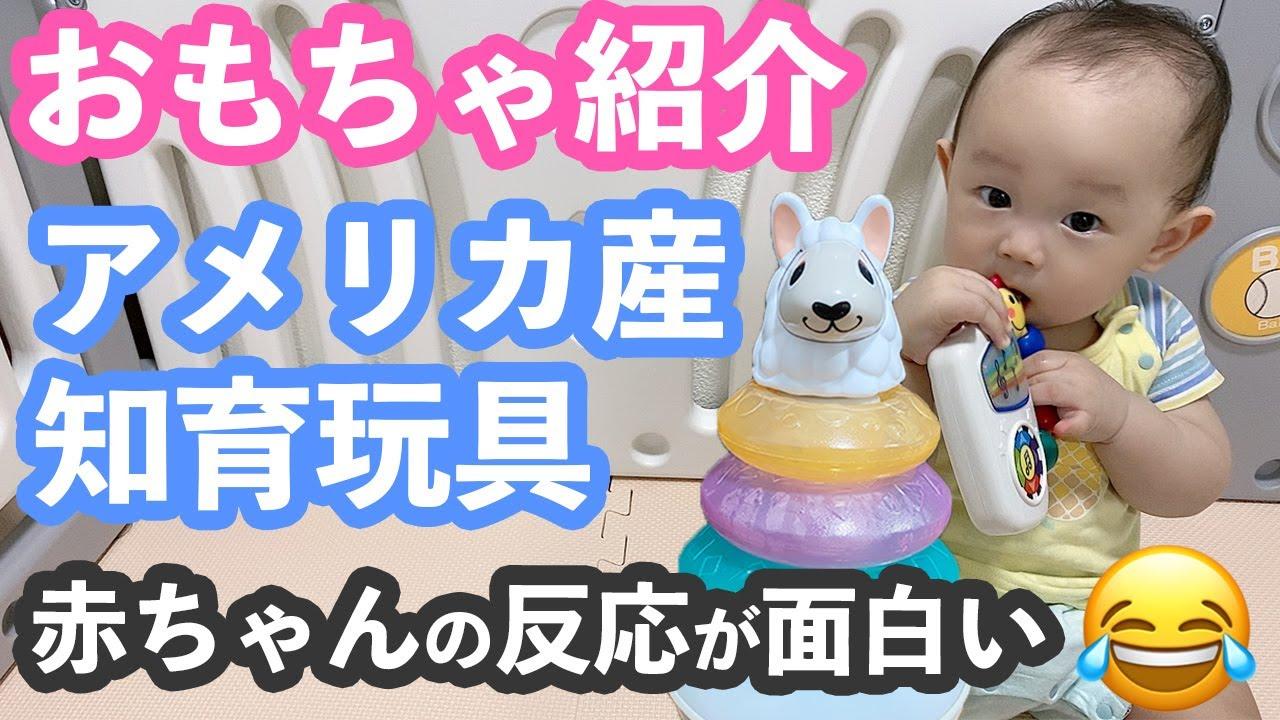 おもちゃ紹介 アメリカで有名な知育玩具を赤ちゃんに渡してみた モニタリング Youtube