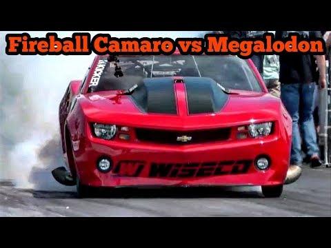 Fireball Camaro vs Megalodon at Armageddon No Prep!