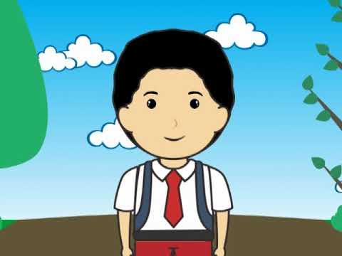 Gambar Animasi Anak Sekolah Keren Nusagates