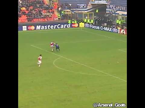 Thierry Henry Goal Against Inter